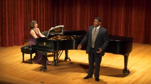 Nicholas Wiggins Performs with his accompanist Olga Krayterman