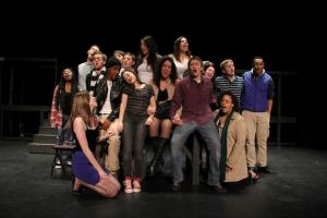 """Rent"" cast membersPhoto by Eric Kulpe"