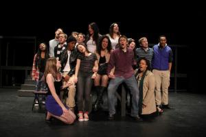 """Rent"" cast membersPhoto by Eric Kulpe"
