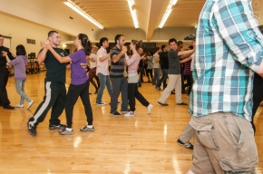 UAlbany Tango Club lesson in session  Provided by UAlbany Tango Club