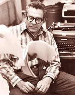 Harry Rosenfeld at The Washington Post 1972