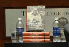 Rosenfeld's Book in display at the forum